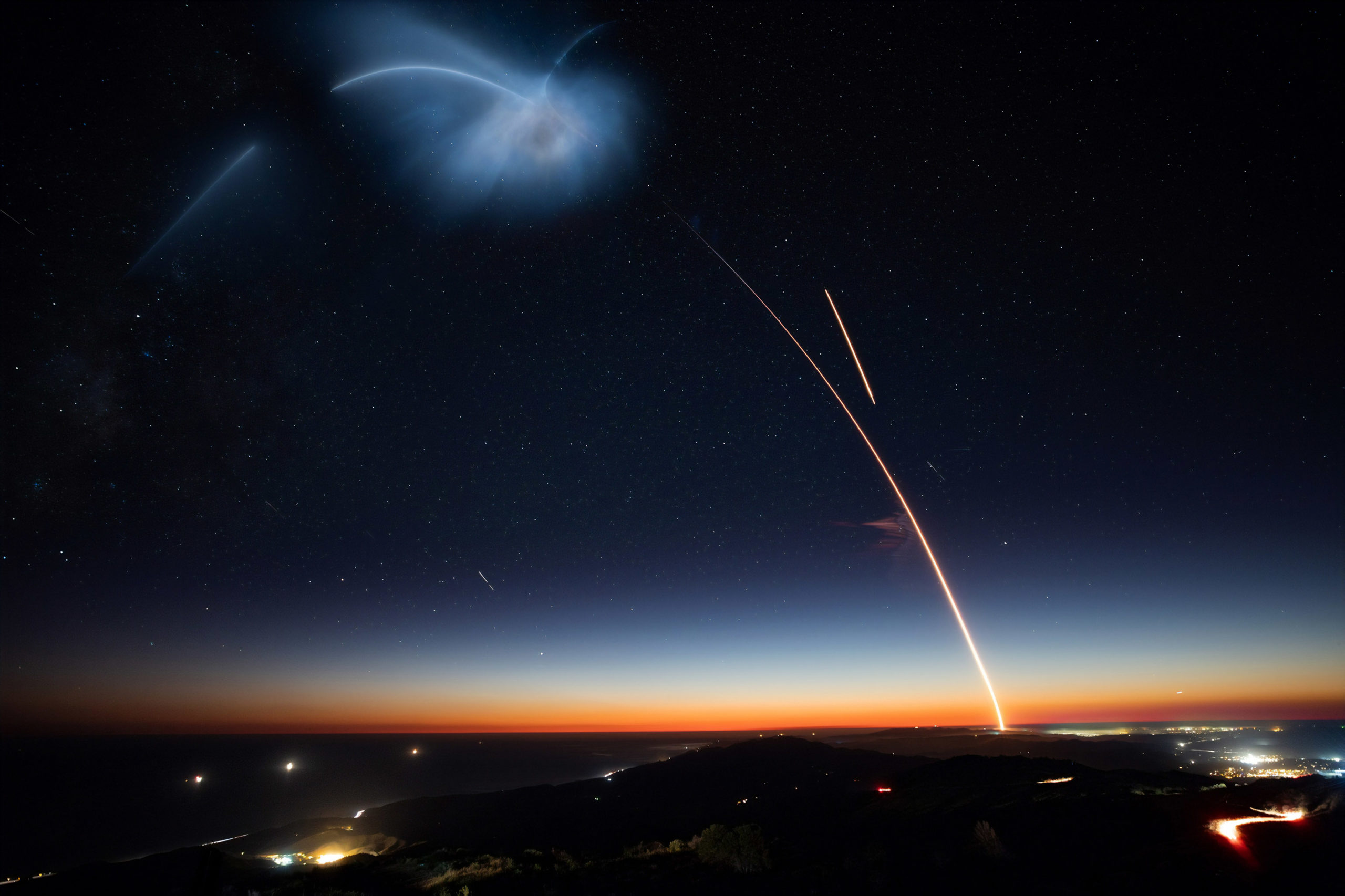 SpaceX Falcon 9 Launch Photo by SpaceX