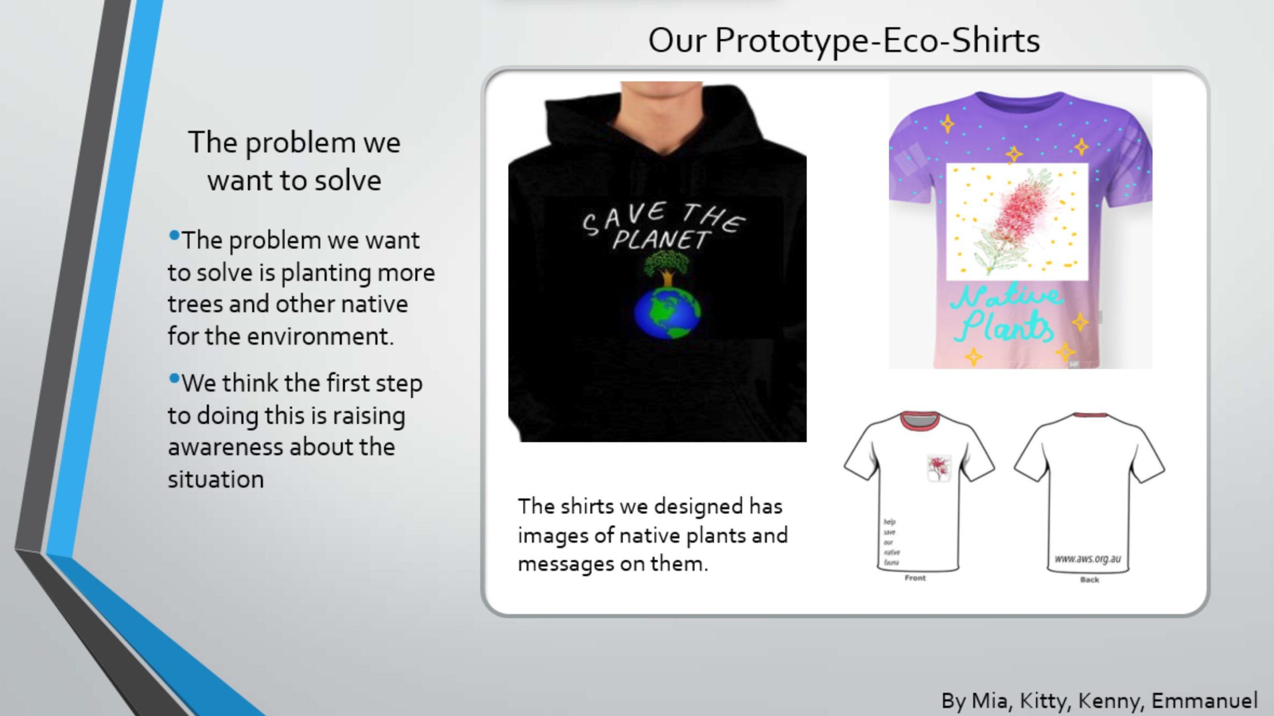 Biodiversity Eco Shirts